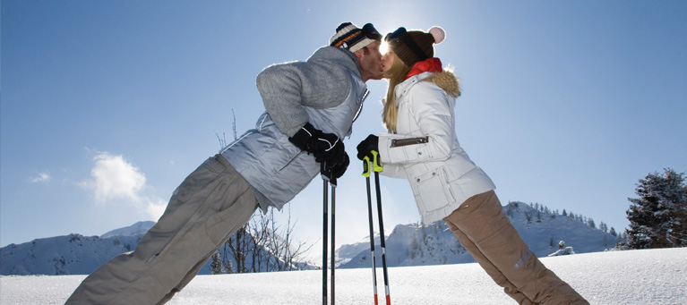 Ski getaway package