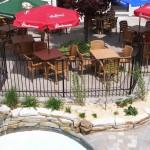 Bistro - Pool terrace