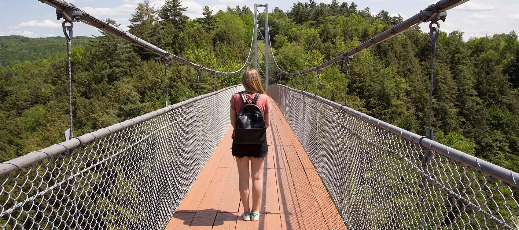 Pont suspendu de la Gorge de Coaticook